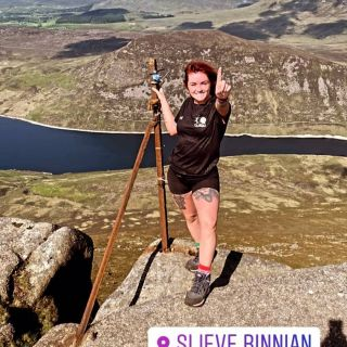 Outstanding from @tula93 completing the Mournes 7 Peak Challenge and raising over £550 for @tamhi2011 which will support our youth projects.   Absolutely fantastic.  #mentalhealthawareness #yougogirl #sevenpeaks