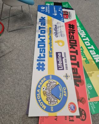 More new #mentalhealthawareness banners going out to raise awareness