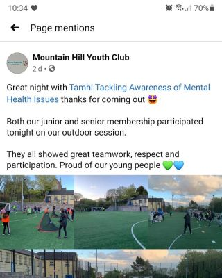 What have we been upto  Deliverying a pilot project with @educationauthority North and East Belfast Youth Services.   Its been really enjoyable getting back out doing what we love.   We have been flat out getting banner out to clubs.