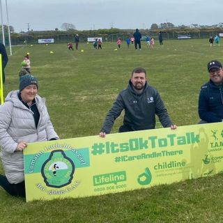 Change Makers   @ballynahinchunited and @ardglass_gac  visited today.  Two.groups who champions of wellbeing in their communities and value #mentalhealthawareness   Exciting times ahead working with these guys