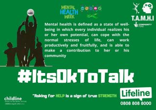 Its Sunday, 1000s of kids will be out playing GAA games #mentalhealth